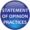 Statement of Opinion Practices Icon